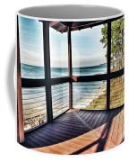 Deck With Ocean View Coffee Mug