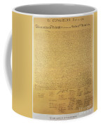 Declaration Of Independence Coffee Mug by American School