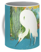 Deco Egret Coffee Mug