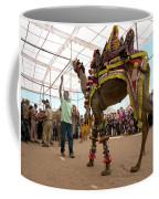 Decorated Camel Pushkar Coffee Mug