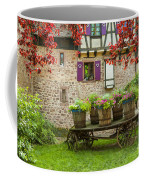 Half-timbered House, Riquewihr, Alsace,france  Coffee Mug