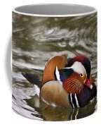 Decorated Duck Coffee Mug