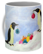 Christmas Penguins Coffee Mug