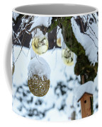 Decorations In The Snow Coffee Mug