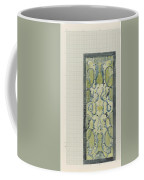 Decorative Design In Green And Blue, Carel Adolph Lion Cachet, 1874 - 1945 Coffee Mug