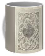 Decorative Design With Leaf Motif, Carel Adolph Lion Cachet, 1874 - 1945 Coffee Mug