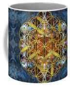 Decorative Gemstone Sacred Geometry Flower Of Life   Coffee Mug