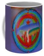 Deep Blue Decal Coffee Mug