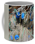 Deep Blue Discs Coffee Mug