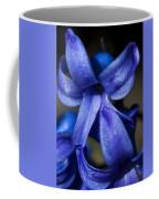 Deep Blue Flower Coffee Mug