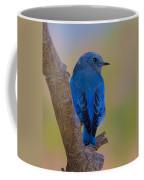 Deep Blue Coffee Mug
