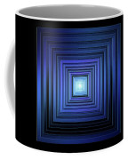 Deep Blue Solstice Coffee Mug