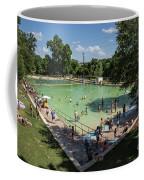 Deep Eddy Pool Is A Family Friendly, Family Fun, Public Swimming Pool In Austin, Texas Coffee Mug