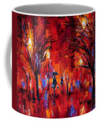 Deep Red Coffee Mug