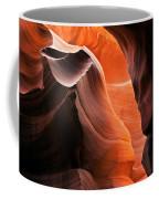 Deep Red Glow Coffee Mug