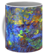 Deep Space Abstract Art Coffee Mug
