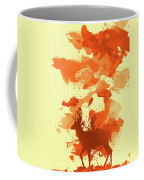 Deer Art Morning Coffee Mug