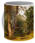 Deer At The Edge Of A Wood Coffee Mug