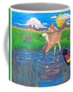 Deer Blessing Coffee Mug