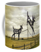Deer Crossing Coffee Mug