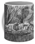 Deer Field  Coffee Mug