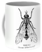 Deer Fly Coffee Mug