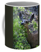 Deer Having Lunch Coffee Mug