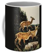 Deer In Forest Clearing Coffee Mug