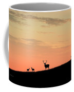 Deer In Silhouette Coffee Mug