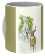 Deer In The Mist Coffee Mug
