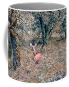 Deer In Woods Coffee Mug