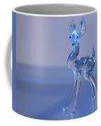 Deer Made Of Glass Coffee Mug