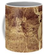 Deer Sepia V3 Coffee Mug