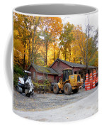 Deer Tractor  Coffee Mug