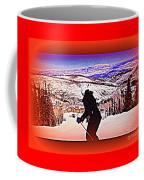 Deer Valley Utah Powder Coffee Mug