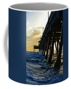 Deerfield Beach Pier At Sunrise Coffee Mug