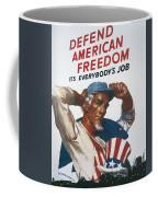 Defend American Freedom Coffee Mug