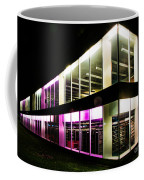 Defiance College Library Night Time Coffee Mug