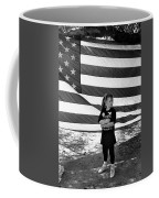 Defiant Girl Desert Storm Troops Welcome Home Celebration Ft. Lowell Tucson Arizona 1991 Coffee Mug