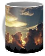 Degas Clouds #2 On Florida Sky Coffee Mug
