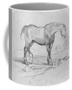 Degas, Horse.  Coffee Mug