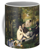 Dejeuner Sur L Herbe Coffee Mug by Edouard Manet