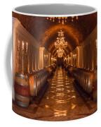 Del Dotto Wine Cellar Coffee Mug by Scott Campbell