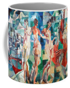 Delaunay: City Of Paris Coffee Mug