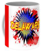 Delaware Comic Exclamation Coffee Mug