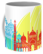 Delhy Skyline Pop Coffee Mug