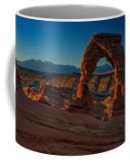 Delicate Arch At Sunrise Coffee Mug