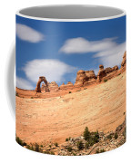 Delicate Arch Famous Landmark In Arches National Park Utah Coffee Mug