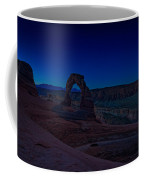 Delicate Arch In The Blue Hour Coffee Mug