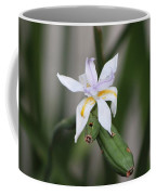 Delicate Pale Purple Iris Coffee Mug